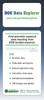 DOE Data Explorer Fact Card