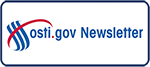 OSTI.gov Newsletter