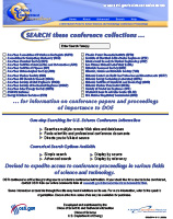 Science Conference Proceedings Flyer