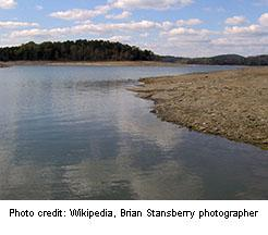 Norris Lake in Union County, Tennessee