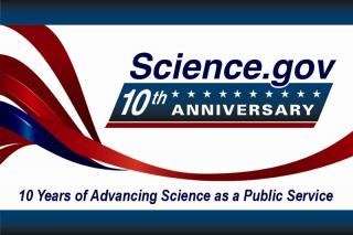 Science.gov 10th Anniversary