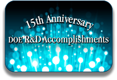 DOE R&D Accomplishments 15th Anniversary