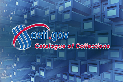 OSTI Catalogue of Collections