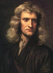 Godfrey Kneller's 1689 portrait of Isaac Newton