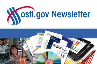 Subscribe to the OSTI Newsletter