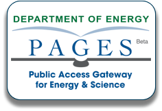 DOE PAGES Beta Public Access Gateway for Energy & Science