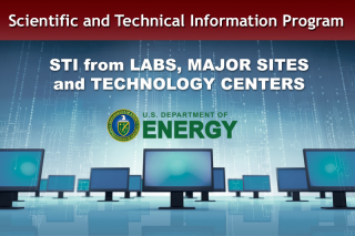 STI from labs, major sites and technology centers