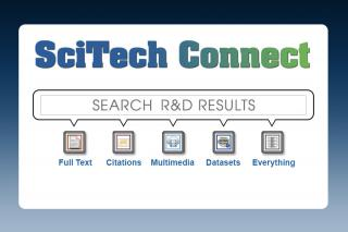 SciTech Connect, search R&D results - full text, citations, multimedia, datasets, everything