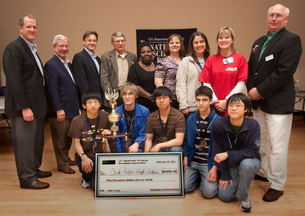 Pellissippi State hosts 2011 Tennessee Science Bowl for 20th year