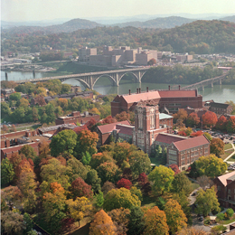 UTK is located in Knoxville, Tennessee