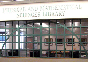 The Physical and Mathematical Sciences Library