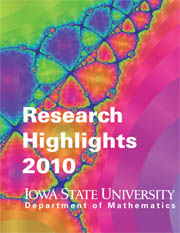 Research Highlights 2010, Department of Mathematics