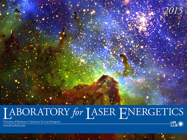 The Laboratory for Laser Energetics's 2013 Calendar