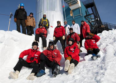World's largest neutrino observatory completed at South Pole (NSF)