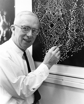Penn State's Physicist Erwin Mueller was first to