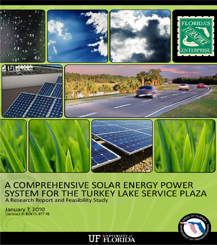 A Comprehensive Solar Energy Power System for the Turkey Lake Service Plaza PDF
