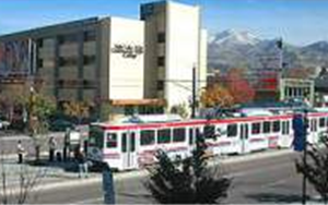 Light Rail at the Library Square Center