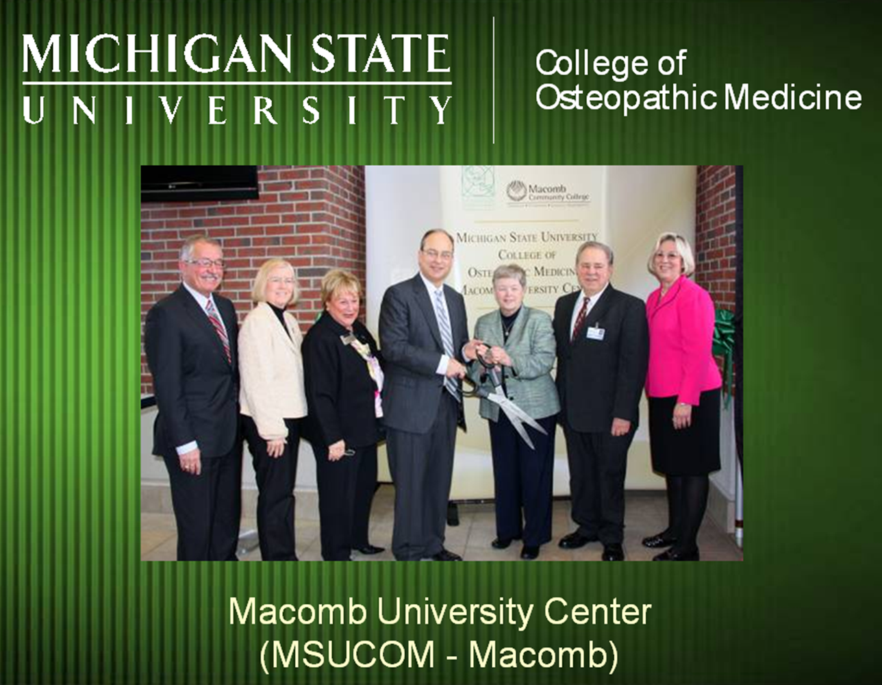 Macomb is first U.S. community college to share a campus with medical school