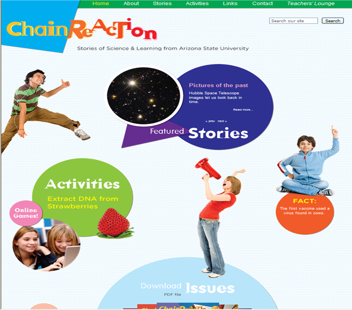 Chain Reaction - Science for Kids
