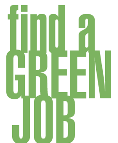 Career Services Green Careers brochure (PDF)
