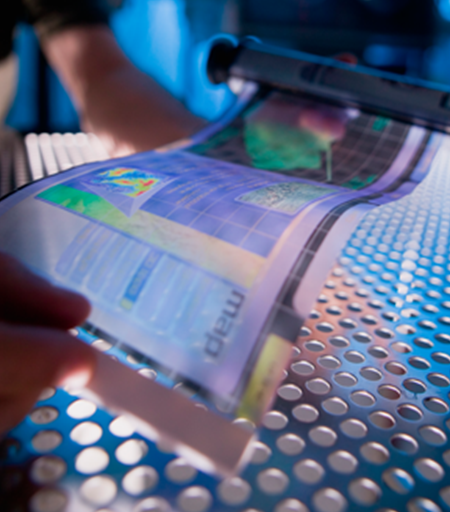 Flexible display research lauded by publication