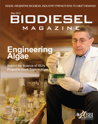 Prof. Spalding's algal biofuels research project in the news