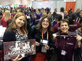 Aggie Women in Computer Science a big success at GHC 2013