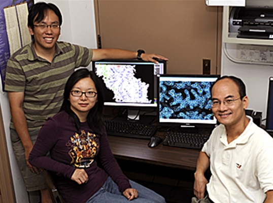 Iowa State, Ames Lab researchers identify structure that allows bacteria to resi