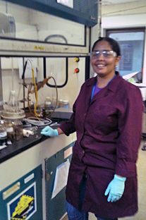 Polo Liliana Corrales conducts bioengineeriing research via grant