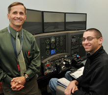 Aviation Program Acquires State-of-the-Art Flight Simulator