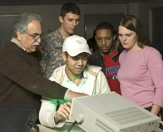 The STEM program matches military officers to partnering institutions