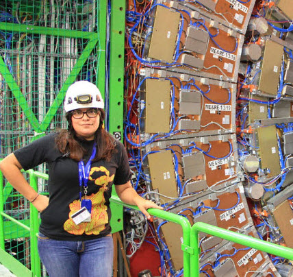 TAMU physics student Indara Suarez finds niche in collider research at CERN
