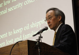 Secretary of Energy Steven Chu discusses climate change