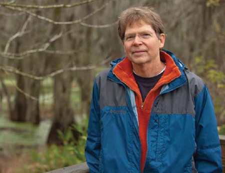 Prof. Gene Edison, principal investigator for the Intelligent River