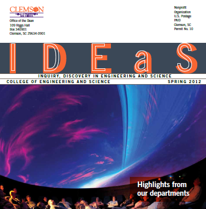 IDEaS magazine from the College of Engineering and Science