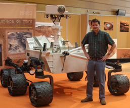 Assoc. Prof. Jeffrey Moersch is integral part of the NASA Curiosity rover team