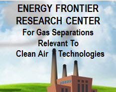 Energy Frontier Research Center for gas separations relevant to clean air techno