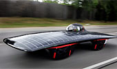 Iowa State's student-built solar car