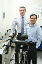 Scientists Gupta and Coelho improve armor helmets and diagnosis