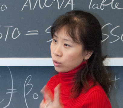Prof. Jimin Ding shares the beauty of mathematics