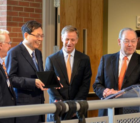 UT and Min Kao Dedicate New Engineering Building