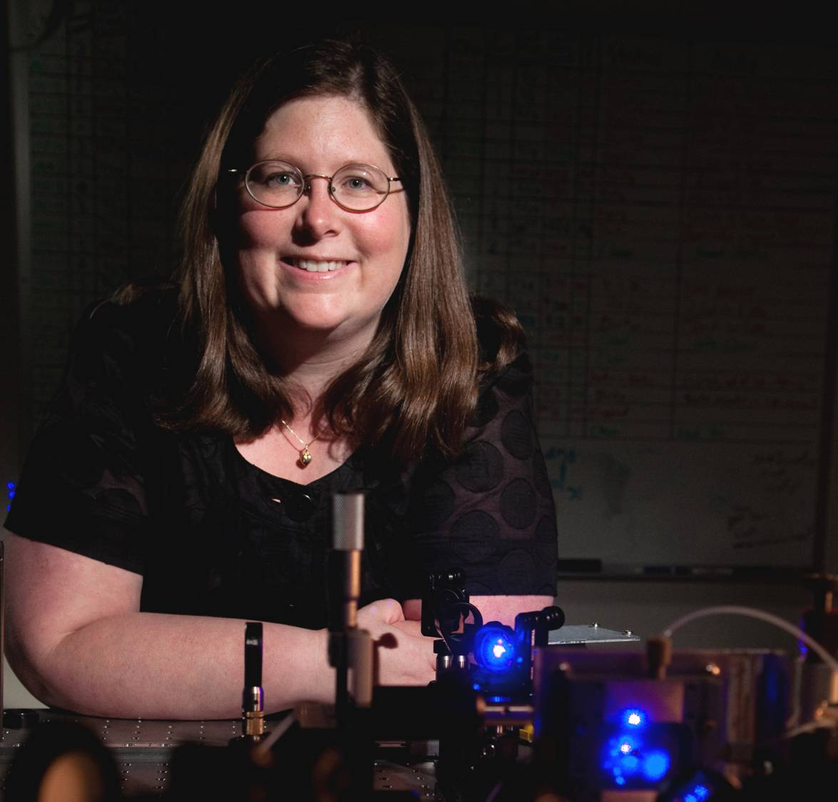 Asst. Prof. Lisa Lapidus advances fundamental understanding of protein assembly