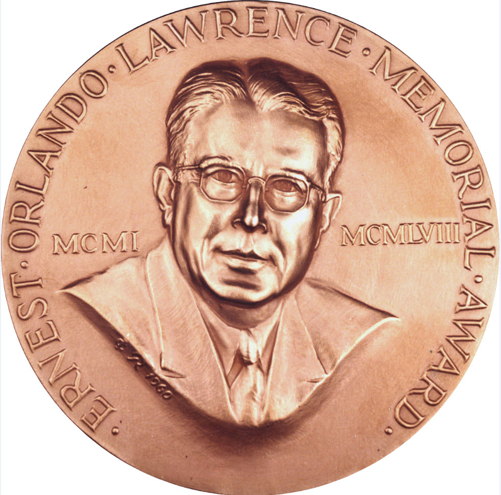 Prof. William Dorland won DOE's Lawrence Award for meritorious contribution in n