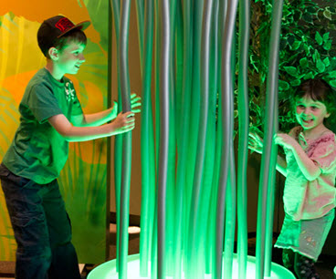 The Lawrence Hall of Science inspires and fosters learning of science and math