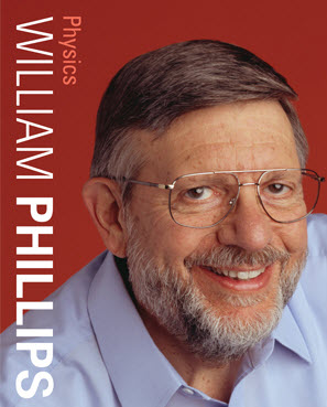 Prof. William Phillips, winner of the 1997 Nobel Prize in Physics