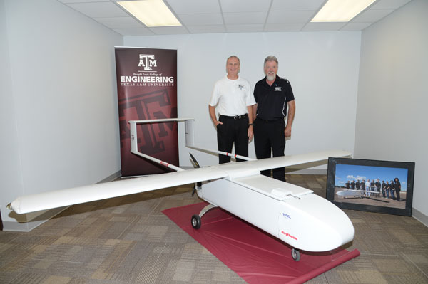 Aerospace engineering researchers design, build unmanned air system