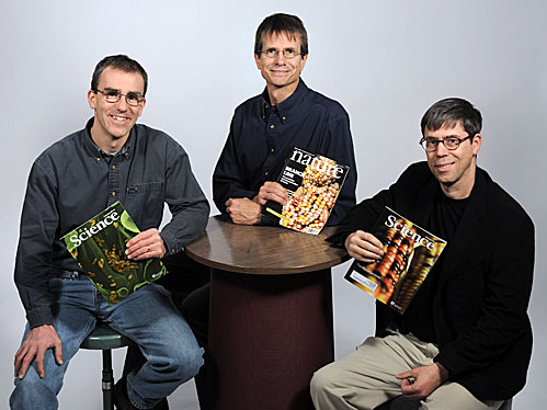 The cover boys of plant science