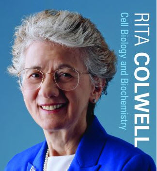 Distinguished Prof. Rita Colwell awarded the National Medal of Science in 2007