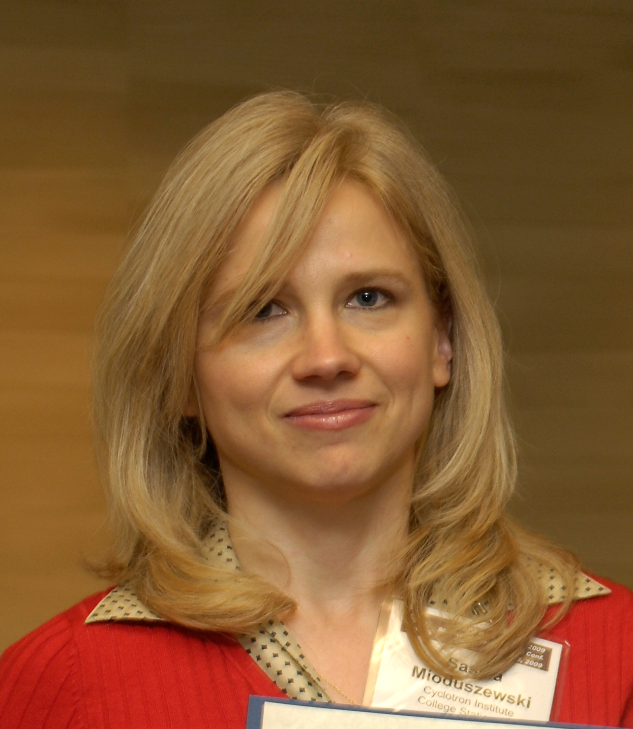 Physics Professor Saskia Mioduszewski-member of STAR collaboration