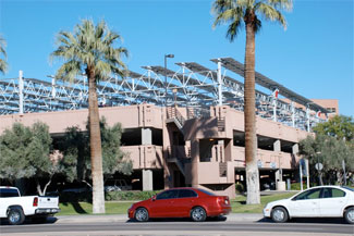 Tempe campus solarization